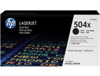 Hewlett Packard CE250XD HP Toner Cartrdg 504X