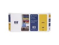 Hewlett Packard Print Head und Cleaner 83 yell