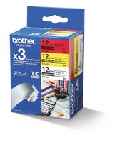 Brother TZE-31M3 12MM 8M 3-PACK WITH