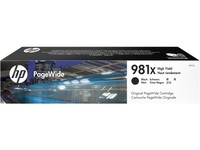 Hewlett Packard INK CARTRIDGE 981X BLACK