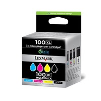 Lexmark RET. PROG INK CARTRIDGE NO100X