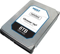 HGST ULTRASTAR HE8 6TB 3.5IN