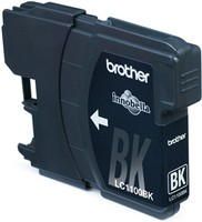 Brother LC1100BKBP2DR 2 X BK