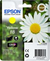 Epson SINGLEPACKYELLOW 18 CLARIA HOM