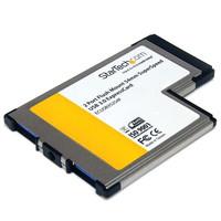 StarTech.com FLUSH MOUNT EXPRESSCARD USB 3