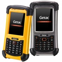 GETAC PS336 Basic, USB, RS232, BT, WLAN, Alpha, GPS, Kit (USB), gelb (
