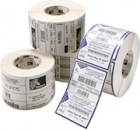 Zebra Z-Select 2000T, Etikettenrolle, Normalpapier, 64x25mm, 8 Stück