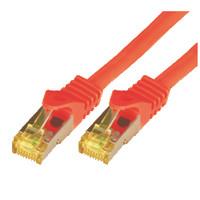 Mcab CAT7 S-FTP-PIMF-LSZH-1.00M-RED