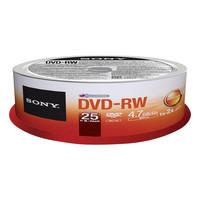 Sony DVD-RW (REWR.) 4X SPINDLE 25PC