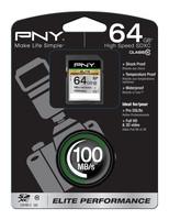 PNY Technologies SDXC 64GB ELITE PERF. CLASS10