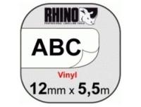 Dymo RHINO TAPE VINYL 12MM/5.5M
