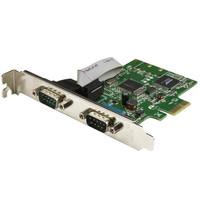 StarTech.com 2-PORT PCI EXPRESS SERIAL CARD