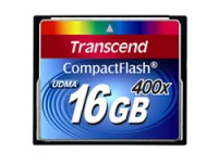 Transcend COMPACT FLASH CARD 16GB 400X