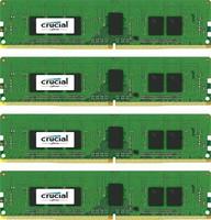 Crucial 16GB KIT (4GBX4) DDR4 2400 MT