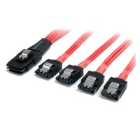 StarTech.com SAS CABLE SFF-8087 TO 4X SATA