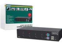 Digitus USB-PS/2 Combo-KVM Switch,4PCs