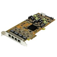 StarTech.com 4 PORT GIGABIT POE PCIE NIC