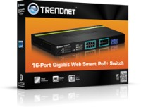 Trendnet 16X GIGABIT WEB SMART POE+