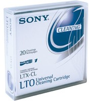 Sony ULTRIUM CLEANING TAPE LABEL