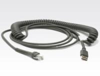 Zebra USB-Kabel, 4,5m, gedreht