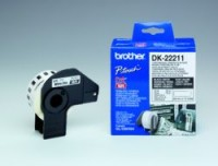 Brother DK CONTINUOUS LABELS WHITE