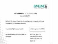 Online USV Systeme Garantieverlängerung 36 Mon.