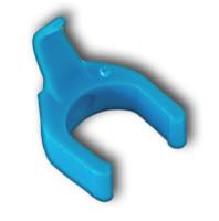 Patchsee PatchClips: hellblaue Clips für PatchSee- Kabel - 50 Stück