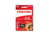 Toshiba MICROSD 64GB INCL. SDADAPTER