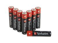 Verbatim ALKALINE BATTERY AAA 8 PACK