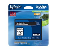 Brother TZE-335 LAMINATED TAPE 12mm 8m