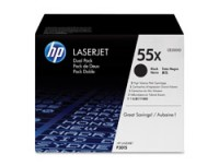 Hewlett Packard CE255XD HP Toner Cartridge 55X