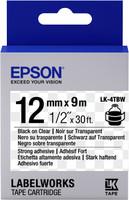 Epson TAPE - LK4TBW STRNG ADH BLK