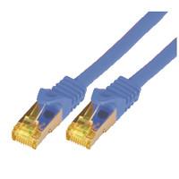Mcab CAT7 S-FTP-PIMF-LSZH-0.25M-BLU