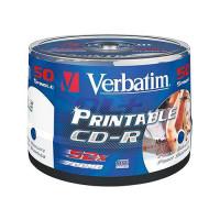 Verbatim CDR 80MIN 700MB 52X 50PK