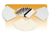 Zebra PVC Karten Weiß 500 KARTEN