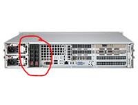 Supermicro HDD-RAHMEN MCP-220-82609-0N