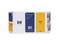 Hewlett Packard Tintenpatrone Nr.:80, gelb