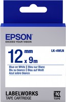 Epson TAPE - LK4WLN STD BLUE/WHT 12