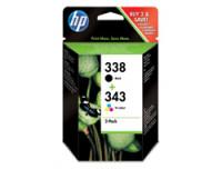 Hewlett Packard SD449EE#301 HP InkCrtg 338/343