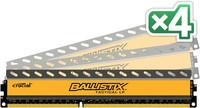 Crucial 16GB KIT (4GBX4) DDR3