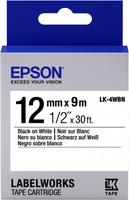 Epson TAPE - LK4WBN STD BLK/WHT 12/9