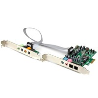StarTech.com 7.1 CHANNEL PCIE SOUND CARD