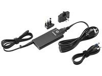 Hewlett Packard 65W Slim AC Adapter mit USB