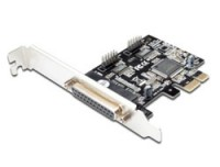 Digitus PCI Express Parallel, 2/1-port