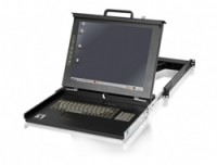 LevelOne 15IN LCD KVM RACK CONSOLE