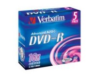 Verbatim DVD-R 4.7GB 16X SILVER