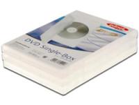 Ednet DVD Single Case, transparent