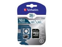 Verbatim MICRO SDHC CARD PRO UHS-I 16GB