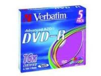 Verbatim DVD-R X5 4.7GB 16X SLIM CASE