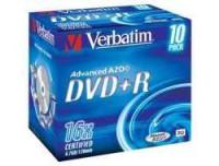 Verbatim DVD+R 4.7GB 16X PRINTABLE